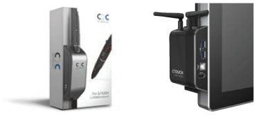 Modulo C2C OPS en el Display Interactivo CTouch Leddura XTS 75 UHD
